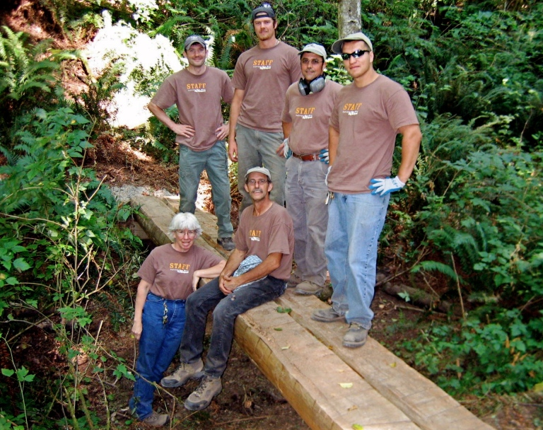 Cougar Mountain staff
