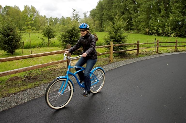 Dasani Blue Bike