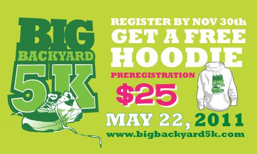 Big Backyard 5K big backyard 5k 2011 online – king county parks plog