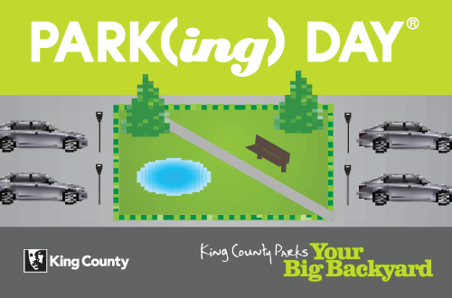 King County Parks PARKing Day 2011