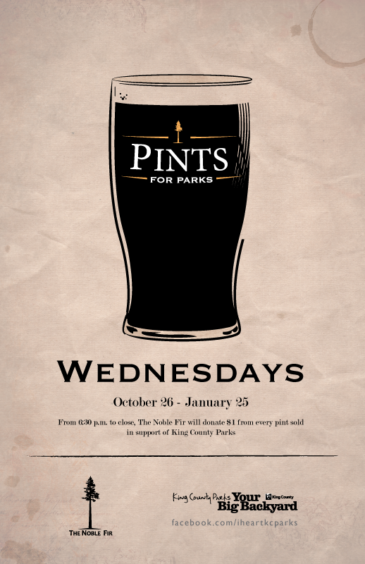 Pints for Parks Noble Fir King County Parks