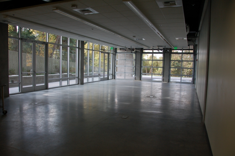 TAF room dedication interior view