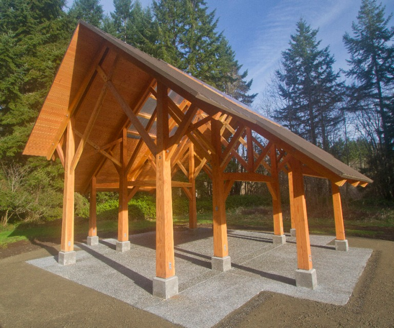 Island Center Forest Shelter