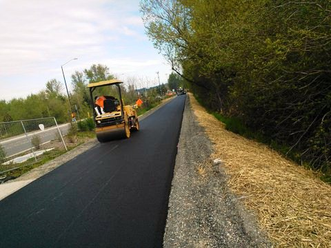 Paving the Issaquah Segment of the East Lake Sammamish Trail