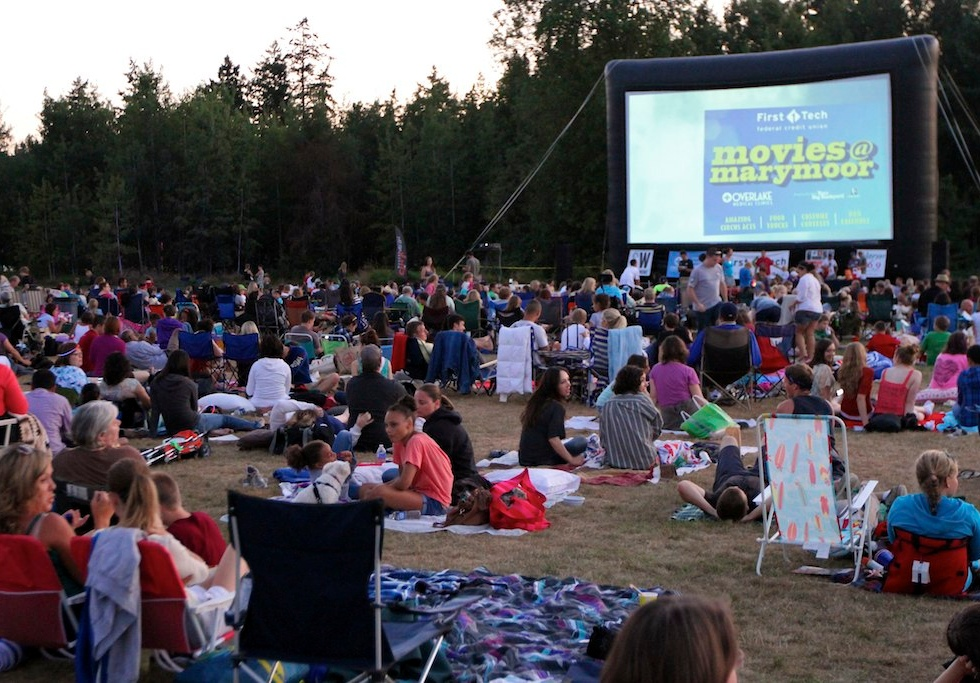 Outdoor Movies@Marymoor
