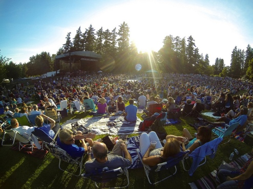 Marymoor Park Concerts: Hall & Oates
