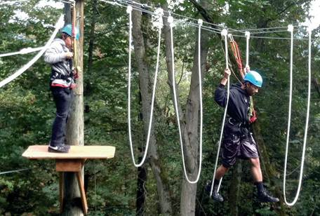 Camp Long Ropes Course