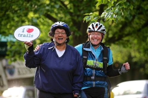 2014 Bike to Work Day, along the Burke-Gilman Trail