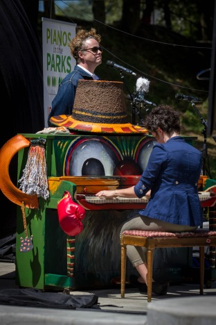 Pianos in the Parks
