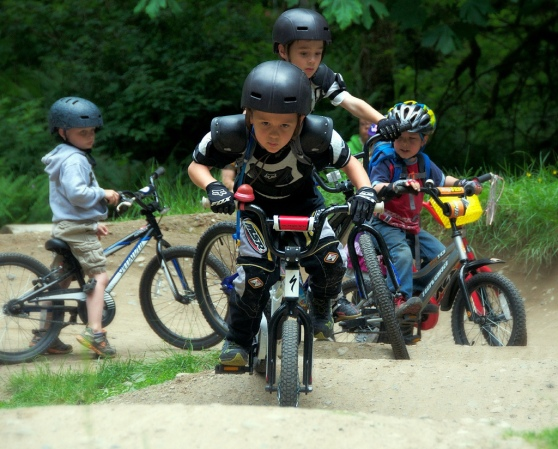 Take A Kid Mountain Biking
