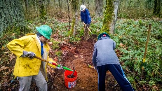 Soaring Eagle Park volunteers