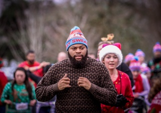 Ugly Sweater 5K at Marymoor Park