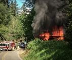 Meadowbrook Bridge arson