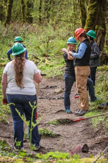 Volunteers at Soaring Eagle