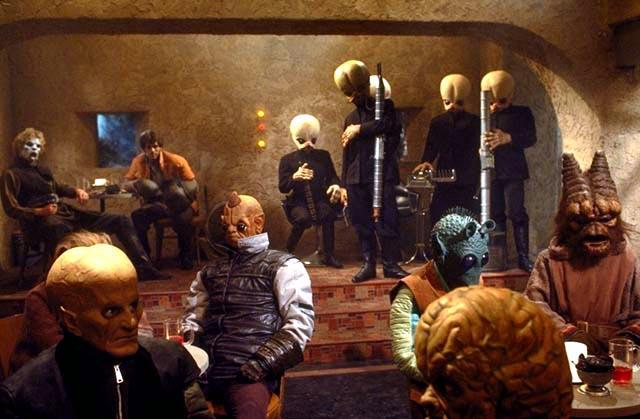 This is probably what the scene will be at Marymoor. Minus droids of course.