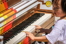 Pianos in the Parks 2015