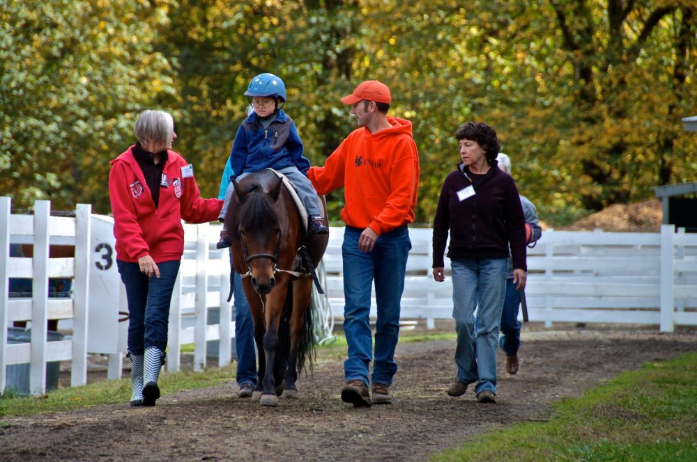 YSFG helped fund a new facility at the Little Bit Therapeutic Riding Center. http://littlebit.org/