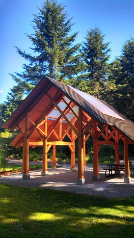 Shelter at Island Center Forest