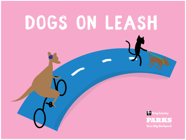 KC Trail Safety - Dogs on leash
