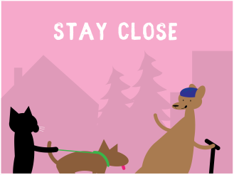 KC Trail Safety - Stay Close