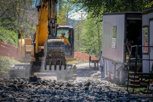 ELST Construction Digger