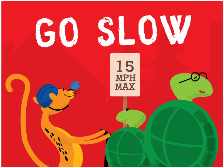 KC Trail Safety - Go Slow