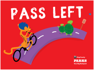 KC Trail Safety - Pass left