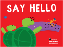 KC Trail Safety - Say Hello