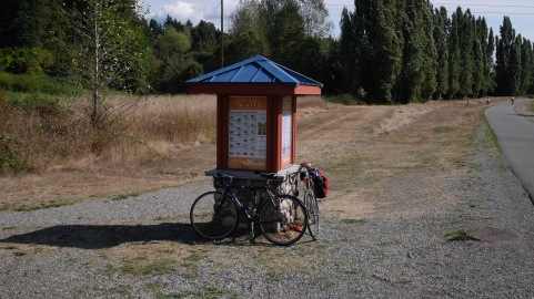 A Parks kiosk on the SRT