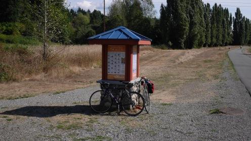 A Parks kiosk on the SRT