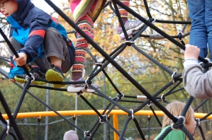 Play area at Marymoor Park